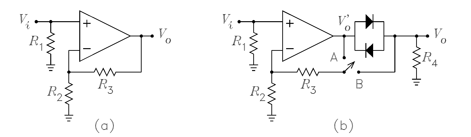 Ece 4435 Operational Amplifier Design Inverting Vs Noninverting Non